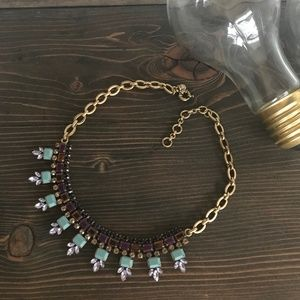 J. Crew Jeweled Necklace